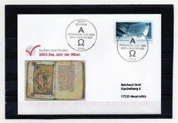 BRD, 2003, FDC (individuell - Echt Gelaufen) Mit Michel 2312, Jahr Der Bibel - FDC: Covers