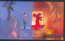 Ireland ** & Irish Dance, Flamenco, Joint Edition Spain And Ireland, Popular Dances (29) - Joint Issues