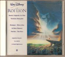 CD. BO Film : LE ROI LION - Walt Disney, VERSION FRANCAISE - Musique : ELTON JOHN - Musique De Films