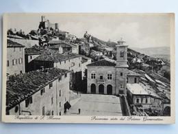 C.P.A. : SAN MARINO, Panorama Visto Dal Palazzo Governativo - San Marino