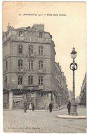 AMIENS SOMME : En 1918 Place René Goblet Après Les Bombardements Allemands - Amiens