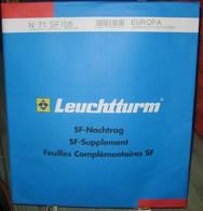 Leuchtturm - JEU EUROPA/CEPT 2008 SF (Avec Pochettes) - Fogli Prestampati
