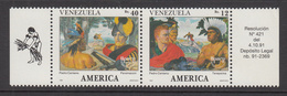 1991 Venezuela America Discovery Explorers  MNH - Venezuela