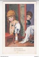 Au Plus Rapide Illustrateur Bertiglia Enfant La Curiosité Non Circulé Excellent état - Bertiglia, A.