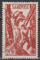 Saarland 1948 MiNr. 250 Gest.Wiederaufbau Des Saarlandes ( 8445) Günstige Versandkosten - 1947-56 Protectorate