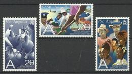 ANGUILLA 2002  20 YEARS OF SOCIAL SECURITY BOARD SET MNH - Anguilla (1968-...)