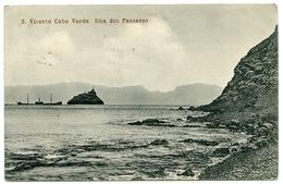 CAPE VERDE : S VICENTE CABO VERDE - ILHA DOS PASSAROS - Cap Vert