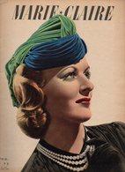Marie-Claire N°154 Ces Femmes Font La Guerre - Et Voici De Nouveaux Tricots - Tricots De Printemps De 1940 - Fashion