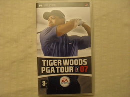 Tiger Woods PGA Tour 07 / Sony PSP - Sony PlayStation