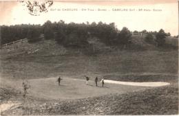 CPA 14 (Calvados) Cabourg - Golf De Cabourg, 8ème Trou - Dunes Et Joueurs TBE - Cabourg