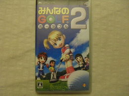 Minna No Golf 2 / Sony PSP / Japan - Sony PlayStation