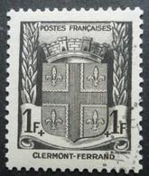 FRANCE Armoirie De Clermont-Ferrand N°531 Oblitéré - 1941-66 Wapenschilden