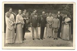 ROMANIA, OLD POSTCARD WITH KING CARLO II AND ROYAL FAMILY, 1935. - Romania