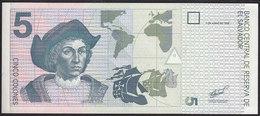 El Salvador 5 Colones 1998 P147 UNC - Salvador