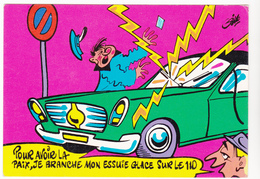 SIRO Ed  Borde  N°80   - Humour  Les Contractuels -   CPSM  10,5x15 BE Neuve - Illustrators & Photographers