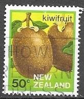 1983 50 Cents Kiwi Fruit, Used - Nouvelle-Zélande