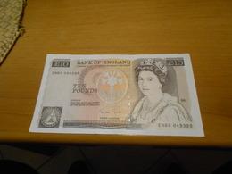 ENGLAND    10  POUNDS  BILLET  - TOP  GRADE - 1952-… : Elizabeth II