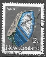 1982 2 Cents Agate, Used - Nouvelle-Zélande