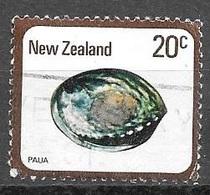 1978 20 Cents Paua, Used - Nouvelle-Zélande