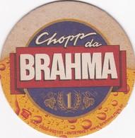 CHOPP DA BRAHMA CERVEZA BEER CIRCA 2000 BRASIL POSAVASOS MAT - BLEUP - Bierviltjes