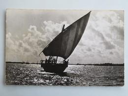 C.P.A. : DJIBOUTI : Boutre, En 1965 - Djibouti