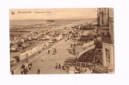 Panorama De La Plage. - Blankenberge