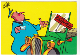 SIRO Ed  Borde  N°90   - Humour  Les Contractuels  -   CPSM  10,5x15 BE Neuve - Illustrateurs & Photographes