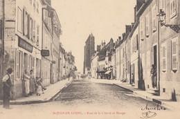 ST-JEAN-de-LOSNE: Rue De La Liberté Et Monge - Sonstige Gemeinden