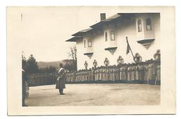 ROMANIA - SINAIA, OLD POSTCARD WITH MILITARY, 1924. - Roemenië
