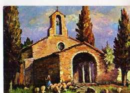 COLOMBINI Chapelle Provencale, Bergere , Moutons - Illustrateurs & Photographes