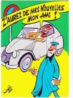 SIRO Ed  Borde  N°85   - Humour  Les Contractuels - Voiture 2CV Citroen -   CPSM  10,5x15 BE Neuve - Illustrateurs & Photographes