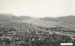 Nagasaki Japan, Panoramic View Of Harbor C1900s Vintage Postcard - Japan