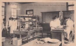 Kobe Japan, Doshisha Girl's School Laboratory Home Economics College, C1900s/10s Vintage Postcard - Kobe