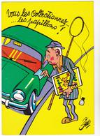SIRO Ed  Borde  N°84   - Humour  Les Contractuels - Collectionneur Papillon -   CPSM  10,5x15 BE Neuve - Illustrateurs & Photographes