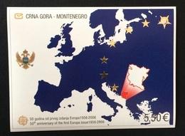 Montenegro 2005; Europa Map; Face Value 5.50 Euro, Catalogue Value 20 Euro; MNH** - Montenegro
