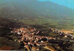 66 - LAROQUE DES ALBERES : Vue Aérienne - CPSM Grand Format - Pyrenées Orientales - France