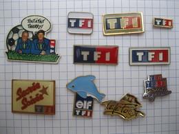 TF1 Lot De 10 Pin's - Pin's