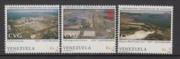 1985 Venezuela Guayana Development Dam Steel Mill  Complete Set Of 1 MNH - Venezuela