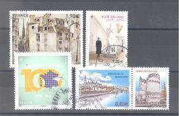 France Oblitérés : Rose Valland - 100 Ans Chèques Postaux - Périgueux Et N°5200 (cachet Rond) - France