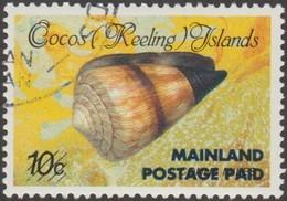 Cocos 1990 Y&T 226 Michel 240 I Scott 225. Coquillage, Surcharge Locale. Cote 40 € - Cocos (Keeling) Islands