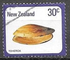1978 30 Cents Toheroa, Used - Nouvelle-Zélande