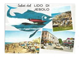 CARTOLINA DEL LIDO DI JESOLO - JESOLO - VENEZIA - 1 - Venezia