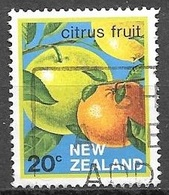 1983 20 Cents Citrus Fruit, Used - New Zealand
