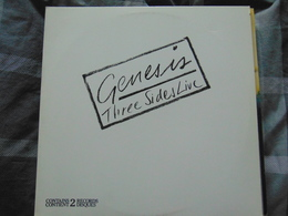 Genesis- Three Sides Live (2LP) - Rock