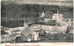 BOUSSU-EN-FAGNE   L' église Et Le Château. - Eghezée