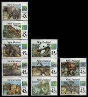 Neuseeland 1994 - Mi-Nr. 1336-1375 ** - MNH - Wildtiere / Wild Animals (III) - Neufs