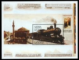 Sierra Leone 2001 - Mi-Nr. Block 485 ** - MNH - Eisenbahn / Trains - Sierra Leone (1961-...)