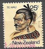 1980 25 Cents Te Hau, Used - Nouvelle-Zélande