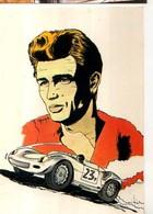 Julien GRYCAN James Dean, Automobile - Illustrateurs & Photographes