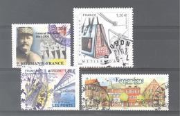 France Oblitérés : Général Berthelot- N°5209 - 5218 & 5243 (cachet Rond) - France